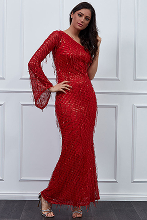Wholesale-One-Shoulder-Hanging-Sequin-Maxi-Dress-DR2532