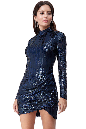 Wholesale-3D-Sequin-Mini-Dress-DR2546