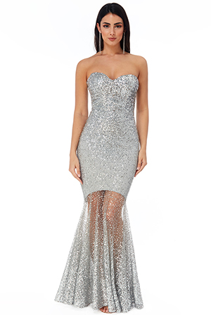 Wholesale-Bandeau-Bodice-Sequin-Maxi-Dress-DR2712
