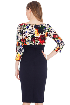 Wholesale Empire Line Midi Dress