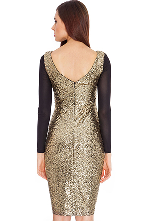 Wholesale Sequin and Mesh Dress