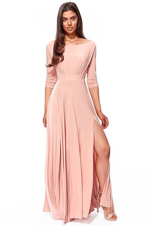 Wholesale-Wrap-Back-Maxi-with-Front-Slit-DR2797A
