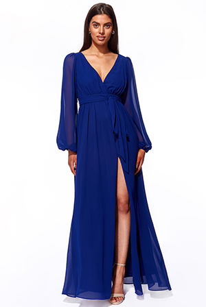 Wholesale-Wrap-Back-Maxi-with-Front-Slit-Chiffon-Maxi-DR2800A
