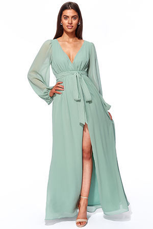 Wrap-Back-Maxi-with-Front-Slit-Chiffon-Maxi