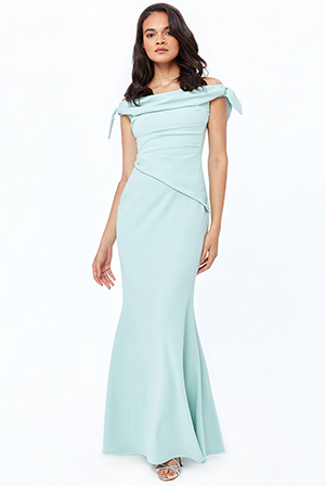 Back-bardot-pleated-waist-maxi-dress