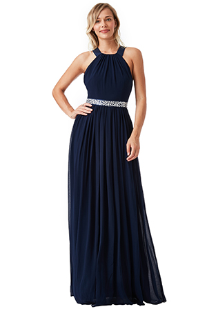 Wholesale-Halter-Neck-Chiffon-Maxi-Dress_3