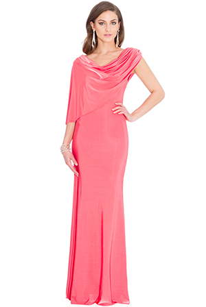 Wholesale Draped Maxi Dress