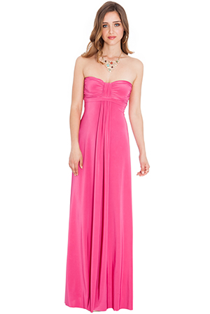 Wholesale Bandeau Maxi Dress