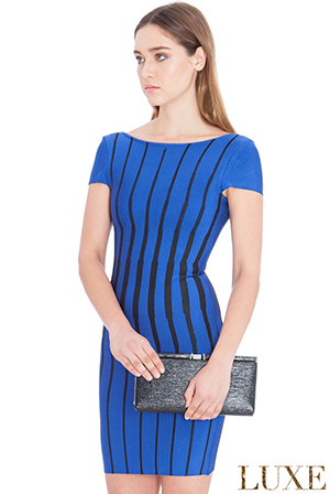Wholesale-Striped-Bodycon-Mini-Dress