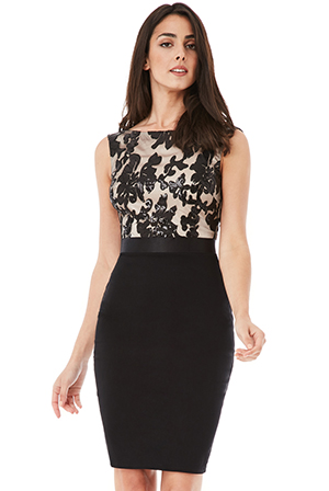 Wholesale-Sequin-Embellished-Midi-Dress