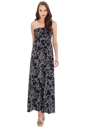 Strapless-Floral-Print-Maxi-Dress_2
