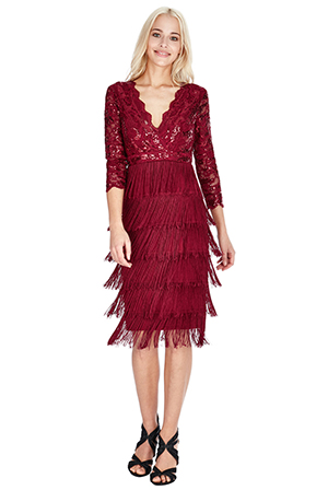 Wholesale-Sequin-and-Fringe-Flapper-Midi-Dress