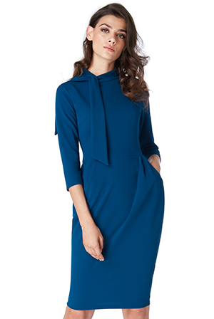 Wholesale-Midi-Dress-with-Pockets_2