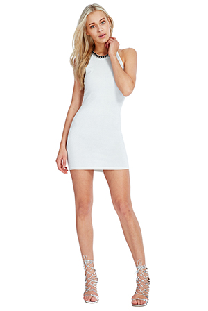 Wholesale-Halter-Neck-Bodycon-Mini-Party-Dress