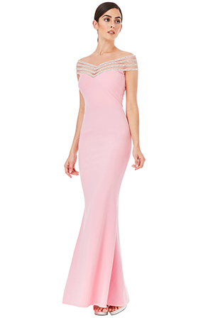 Wholesale-Embellished-Neckline-Maxi-Dress_7