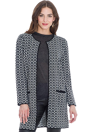 Wholesale Geometric Pattern Jacket