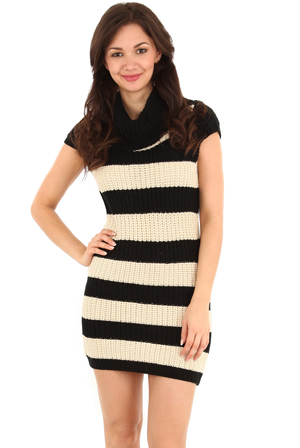 Striped-Jumper-Dress-with-Cap-Sleeves
