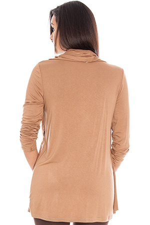 Wholesale Long Sleeved Wrap Top
