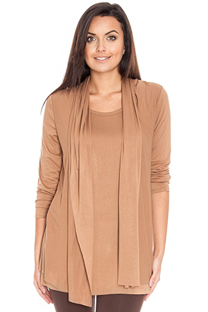 Long-Sleeved-Wrap-Top