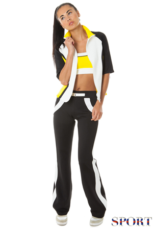 Wholesale Colour Block Sports Trousers