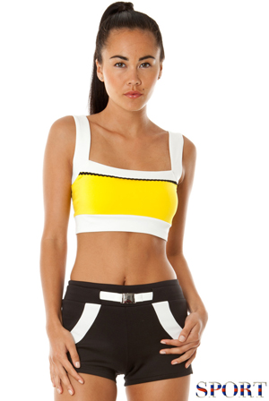 Wholesale Colour Block Sports Shorts