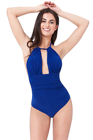 Wholesale-Gathered-Front-Swimsuit-SW126
