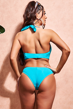 Wholesale V Neck Swimsuit