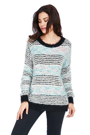 Wholesale Boucle Effect Jumper