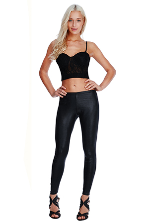 Wholesale-Leather-Effect-Leggings