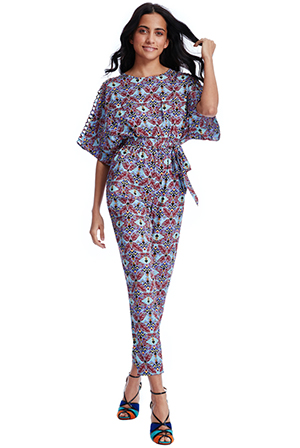Wholesale Geometric Print Jumpsuit