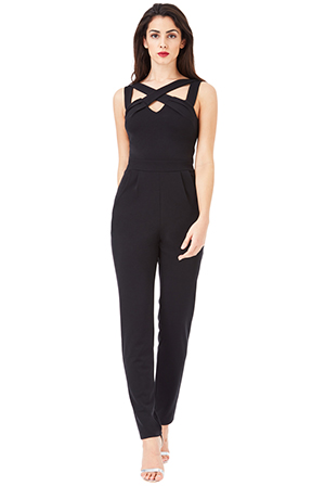 Wholesale-Cross-Over-Strap-Jumpsuit