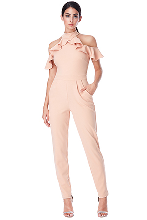 Wholesale-Cut-Out-Jumpsuit-with-Frill-Detail