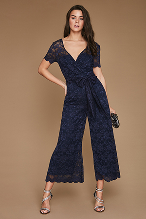 Wholesale-Wide-Leg-Lace-Jumpsuit-with-Short-Sleeves