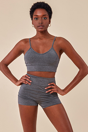 Cropped-Bralette-and-Cycle-Short-Set