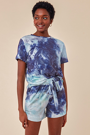 Tie-Dye-Oversized-T-shirt-and-Short-Two-Piece-Set