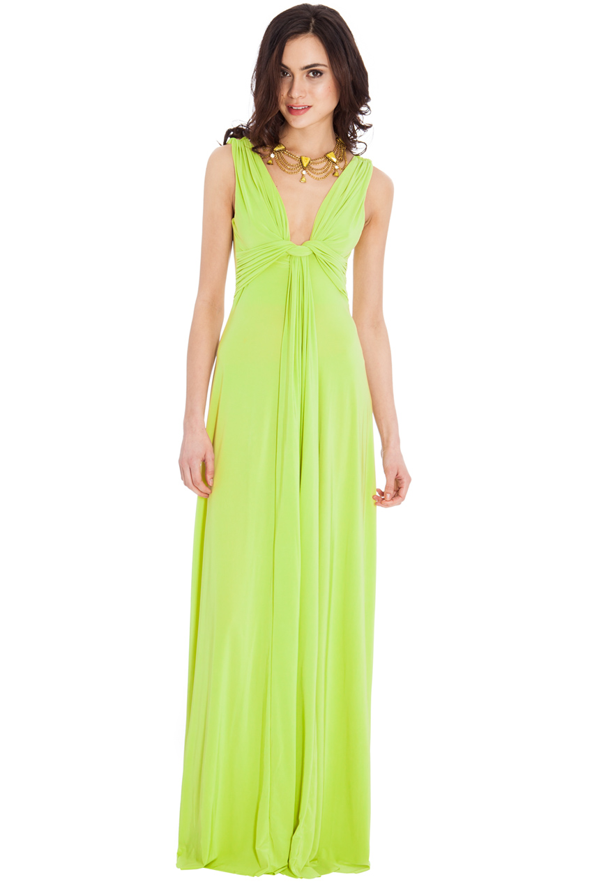 Wholesale Draped Grecian Maxi Dress