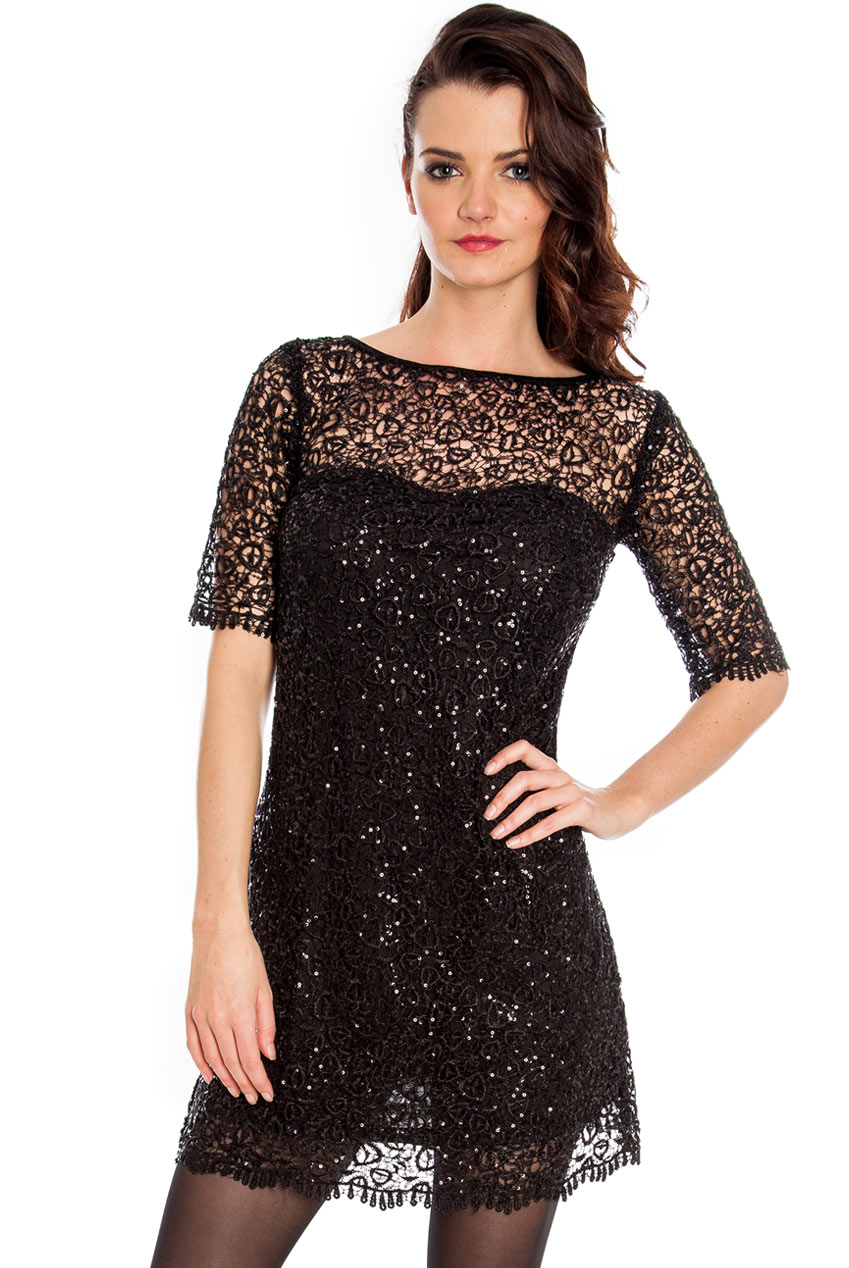 Wholesale Sweetheart Lace Shift Dress in the style of Taylor Swift