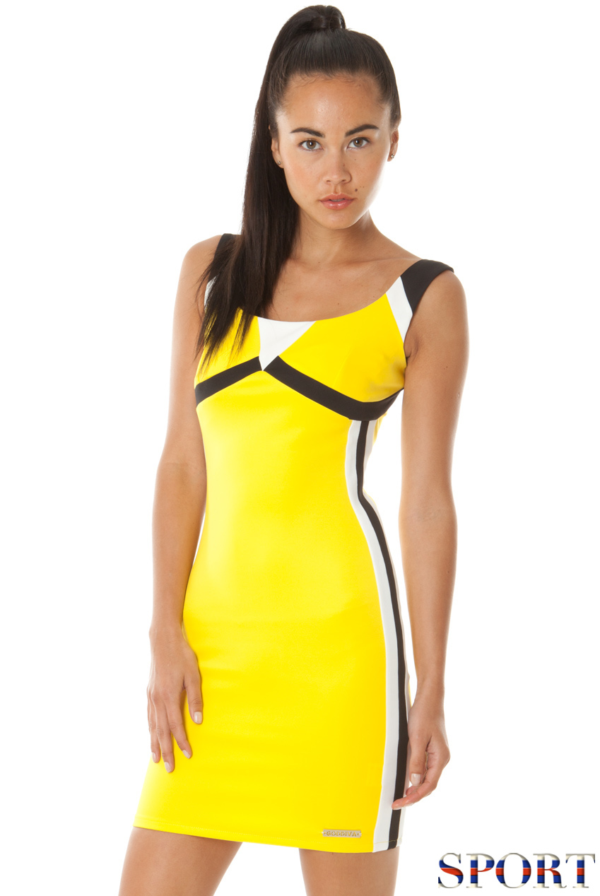 Wholesale Colour Block Sports Dress