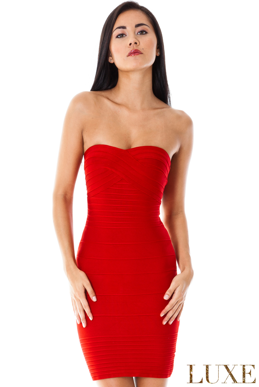 Wholesale Bandeau Bodycon Dress