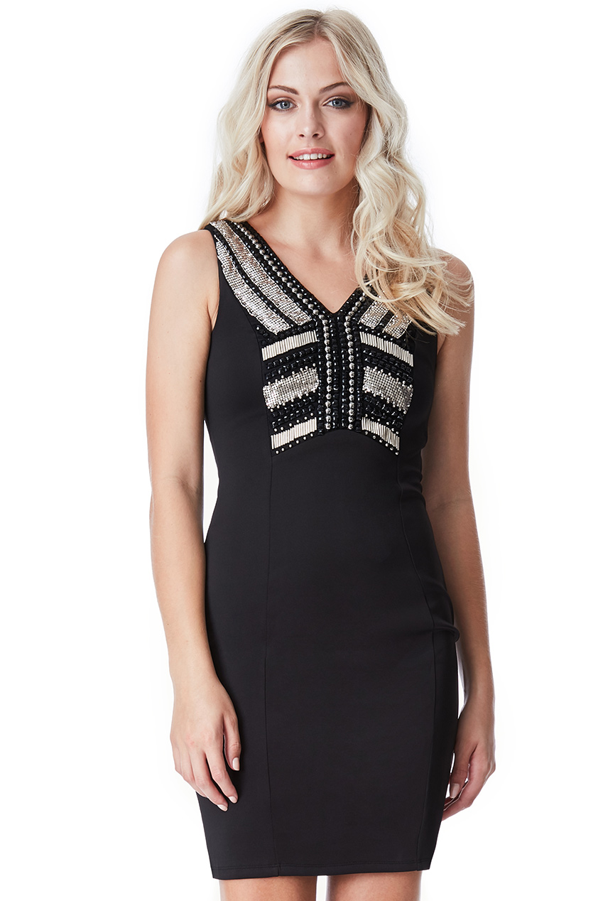 Wholesale Embellished Bodycon Dress