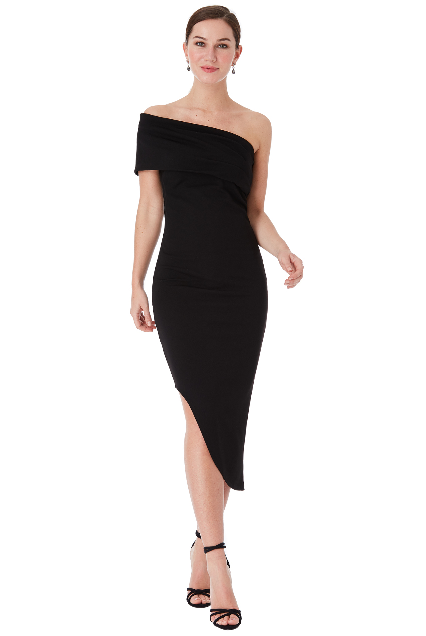Wholesale Tall - One Shoulder Bodycon Asymmetric Dress