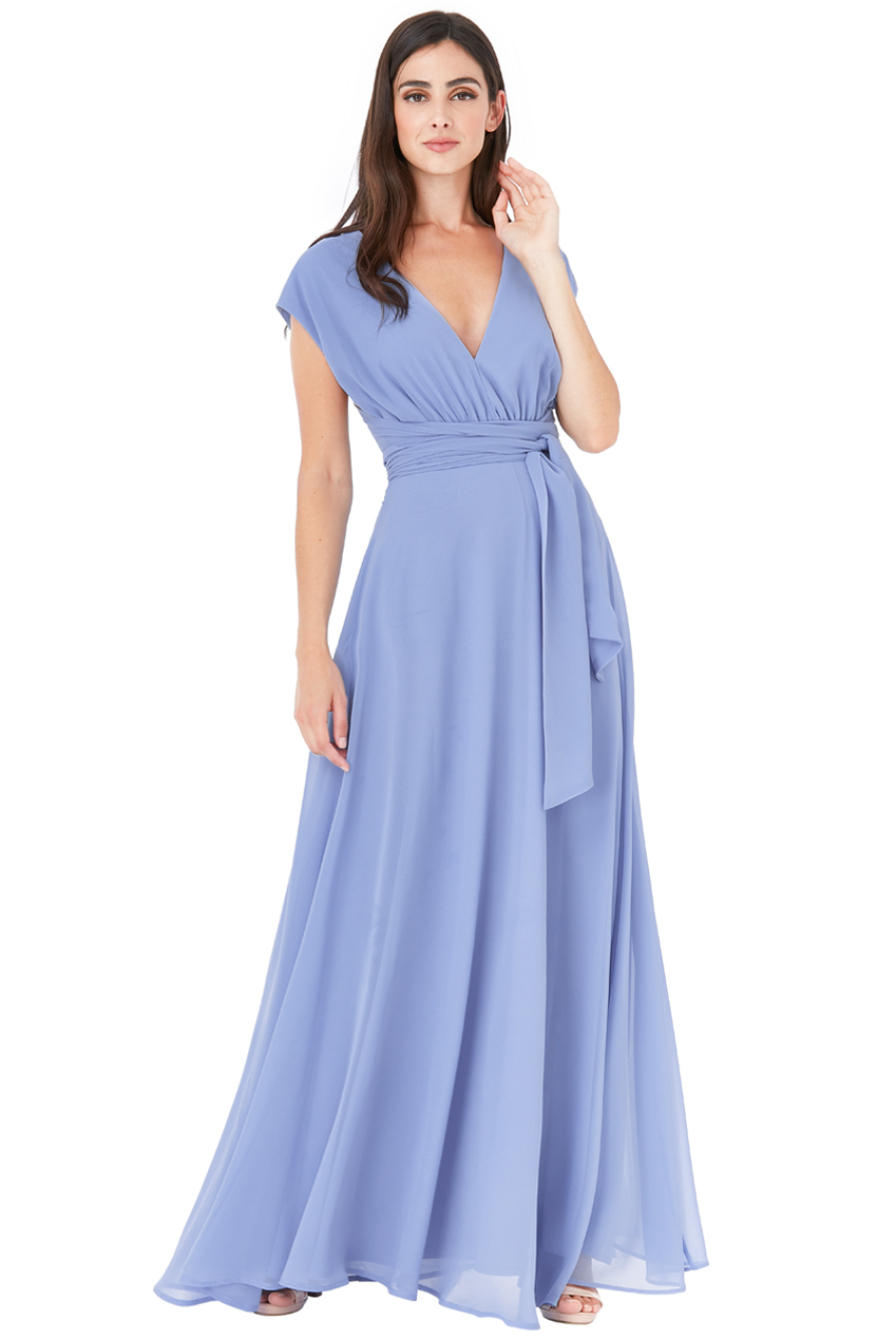 Wholesale Multiway Chiffon Maxi Dress