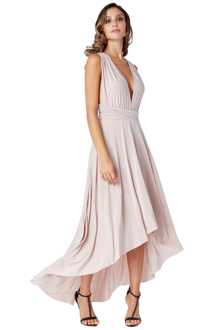 Wholesale High Low Multiway Maxi Dress