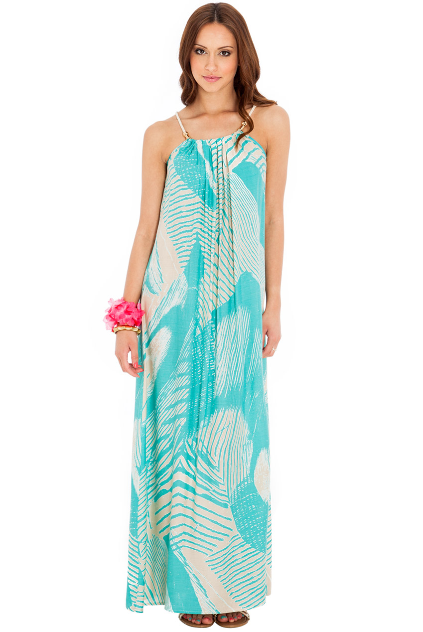 Wholesale Printed Summer Maxi Dress