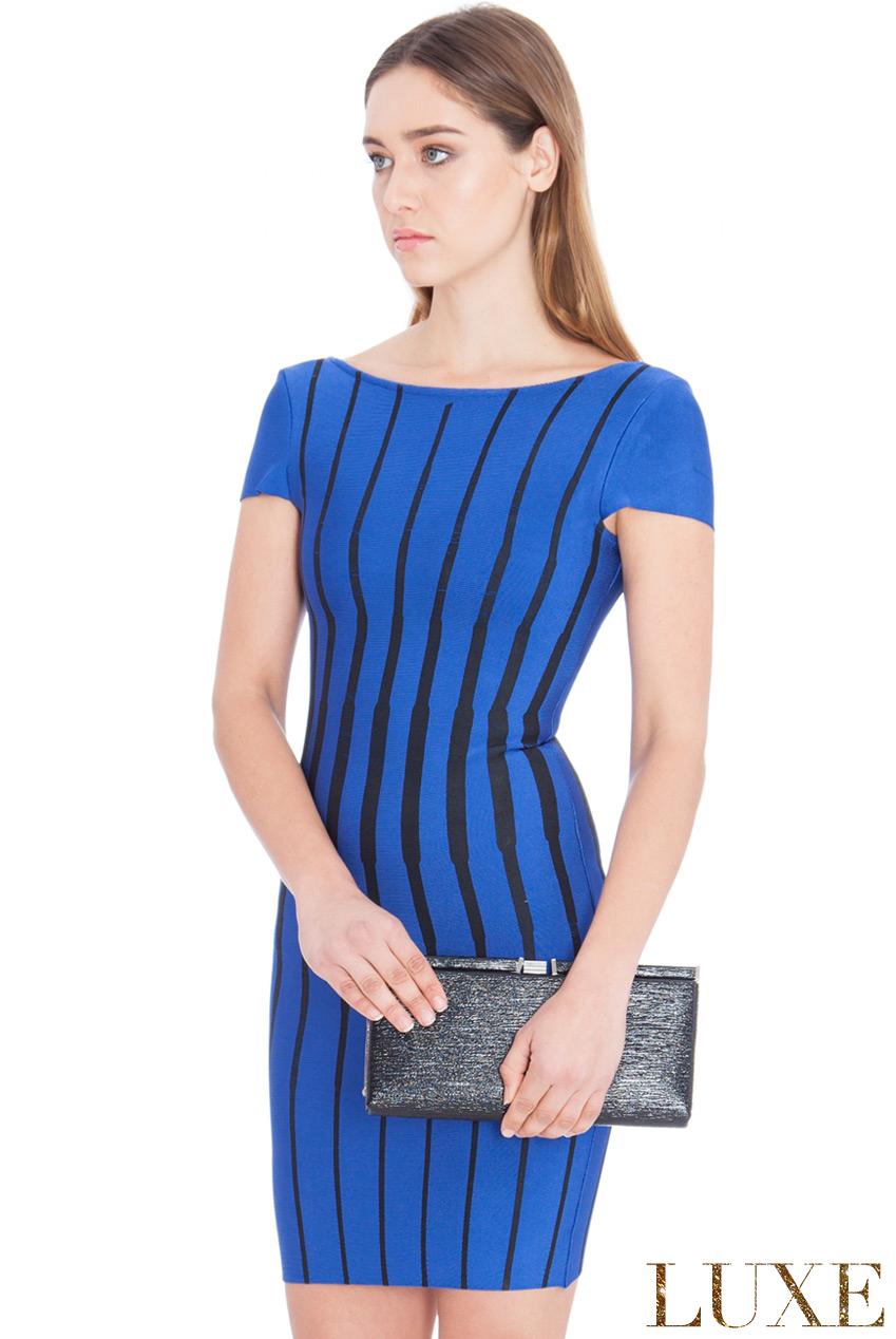 Wholesale Striped Bodycon Mini Dress