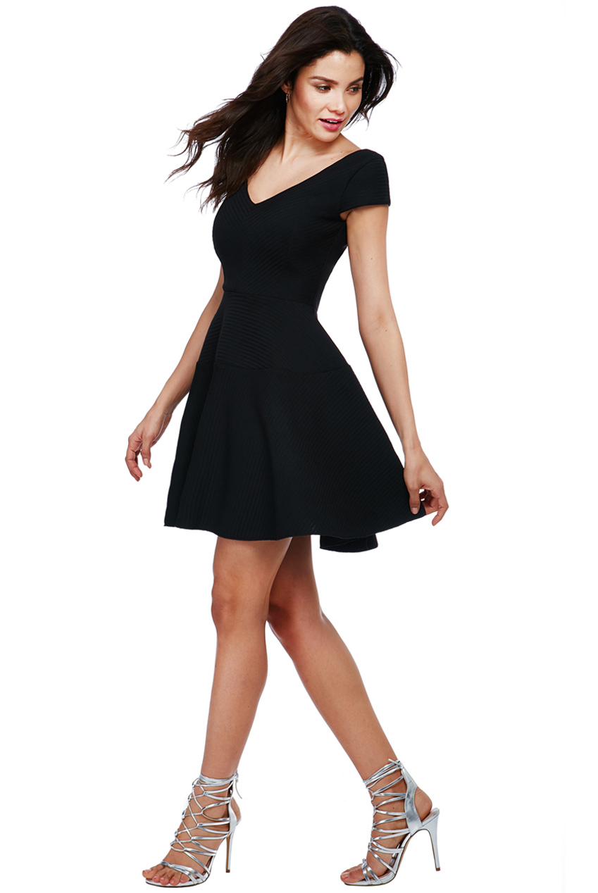 Wholesale Textured Skater Dress