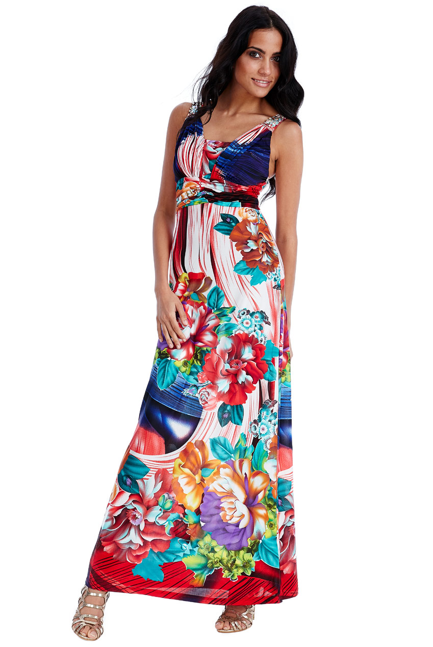 Wholesale Floral Maxi Dress