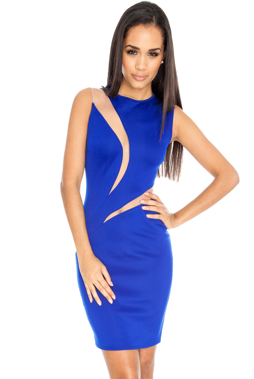 Wholesale Double Insert Bodycon Dress