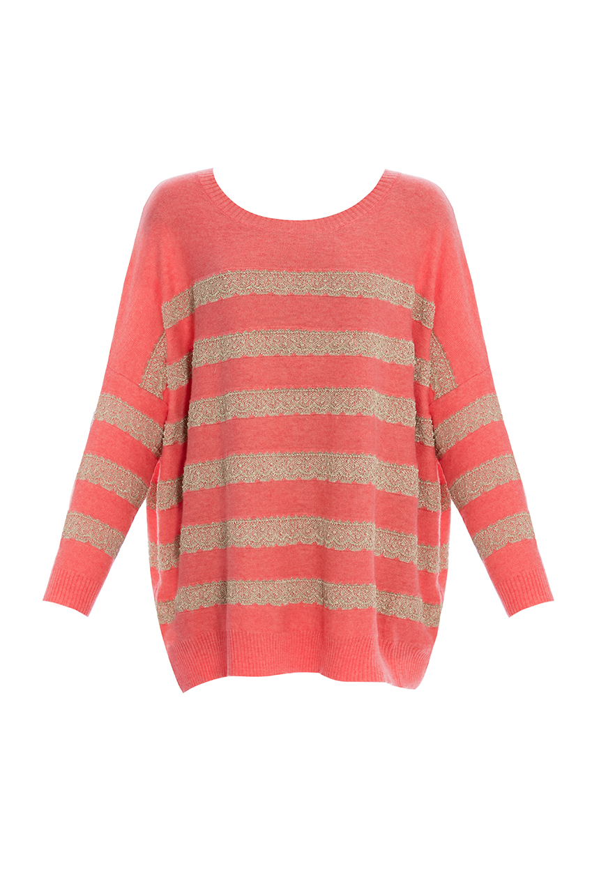 Wholesale Chunky Stripe Jumper