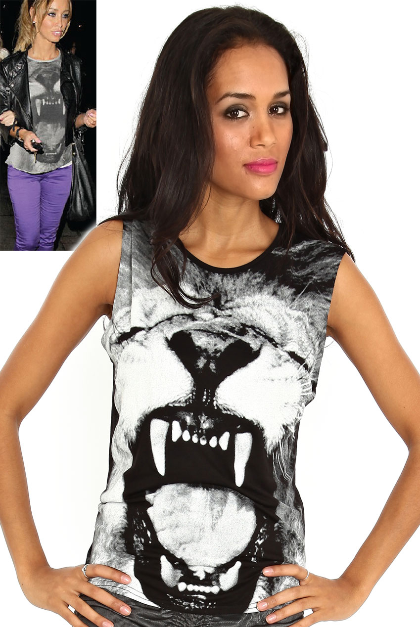 Wholesale Roaring Tiger Vest in the style of Lauren Pope